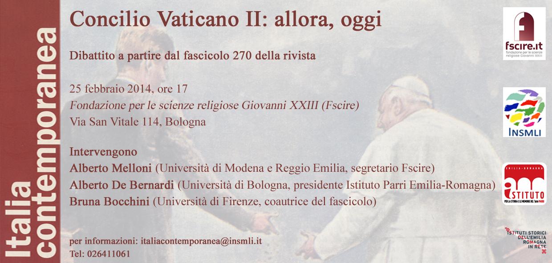 Post image of Il Concilio Vaticano II: allora, oggi