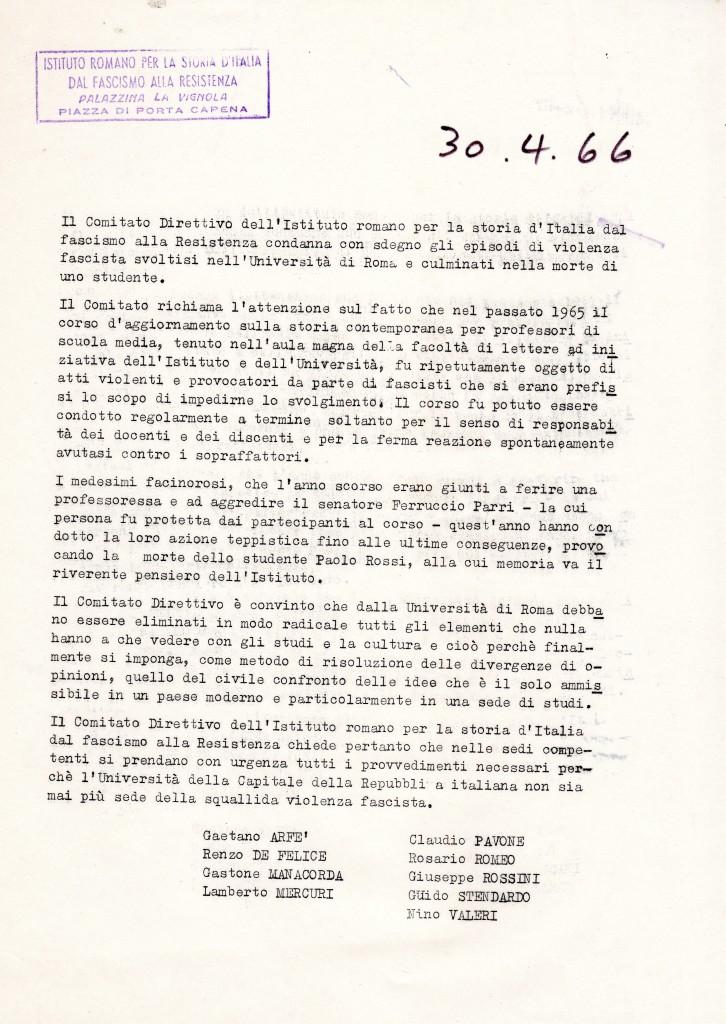 ComunicatoIrsifar1966