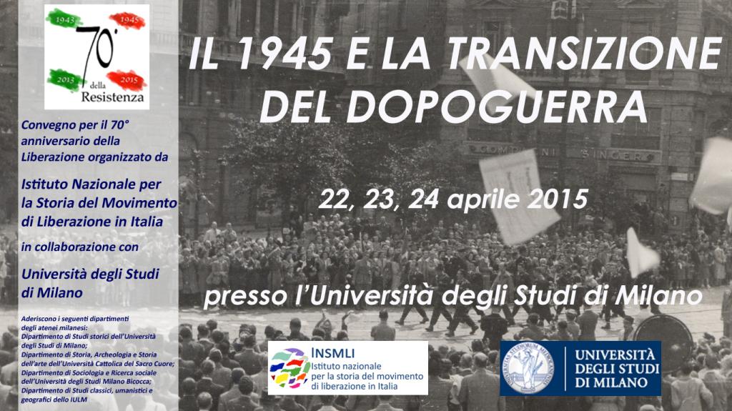 Post thumbnail of Il 1945 e la transizione del dopoguerra