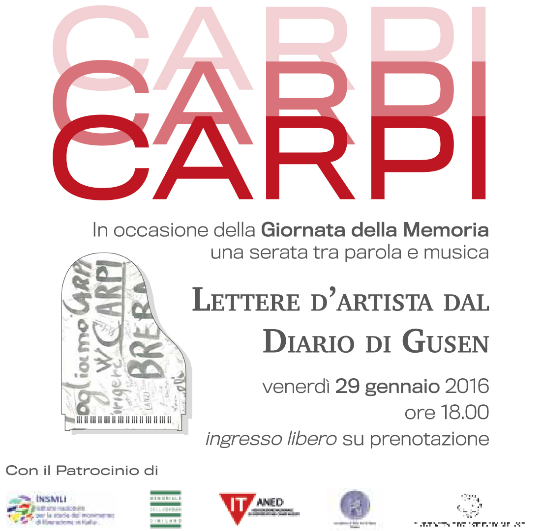 Post thumbnail of Lettere d'artista dal diario di Gusen