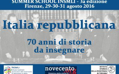 Summer school INSMLI 2016