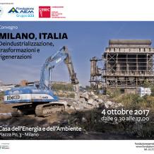 """Convegno """"Milano, Italia"""""""