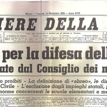 1938: Razzisti per legge