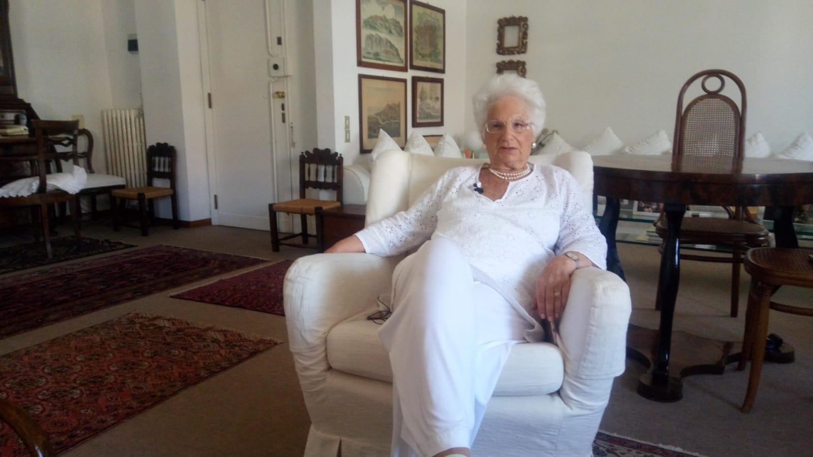 Intervista a Liliana Segre