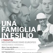 Trentin: una famiglia in esilio