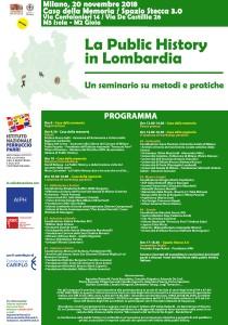public history in lombardia