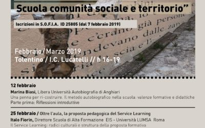 Scuola, comunità sociale e territorio