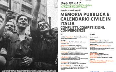 Memoria pubblica e calendario civile