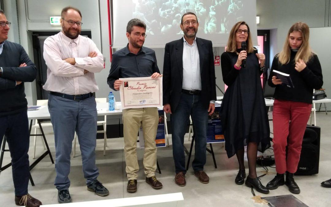 Alessandro Santagata ha vinto il Premio Pavone