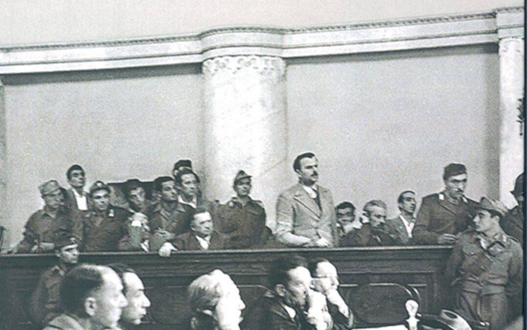 Giustizia straordinaria e militare nell'Italia in guerra e dopo il 1945
