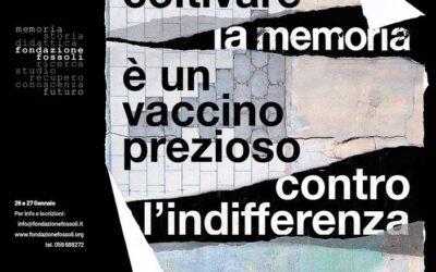 Coltivare la memoria è un vaccino prezioso contro l'indifferenza
