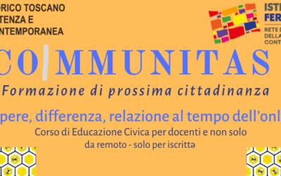 CoImmunitas. Formazione di prossima cittadinanza
