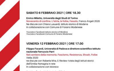 Dialoghi dell'Istituto storico di Modena per il giorno del ricordo 2021