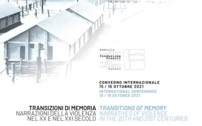 Call for paper – Transizioni di memoria. Narrazioni della violenza nel XX e nel XXI secolo
