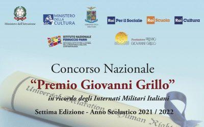 7° Premio Nazionale Giovanni Grillo. Memoria e Diritti umani: una strada verso la libertà
