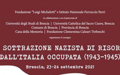 La sottrazione nazista di risorse dall'Italia occupata (1943-1945)