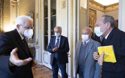 Il volume sui Costituenti calabresi presentato a Roma a Mattarella e Fico