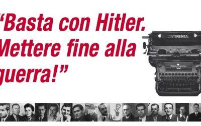 Basta con Hitler. Mettere fine alla guerra!